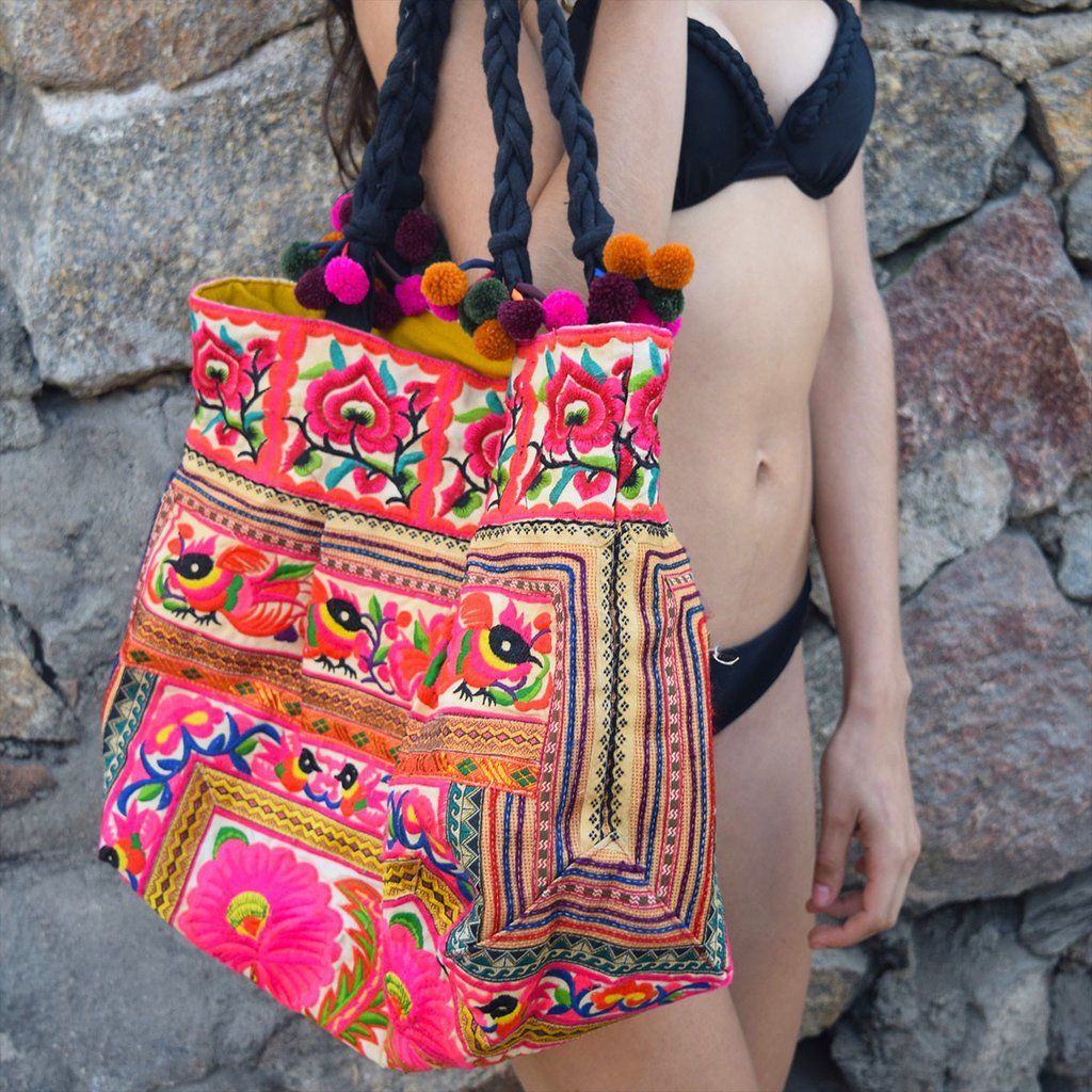 Hmong Tribe Embroidered Bag (Various Colors) in 2018  de6f57bf2a880