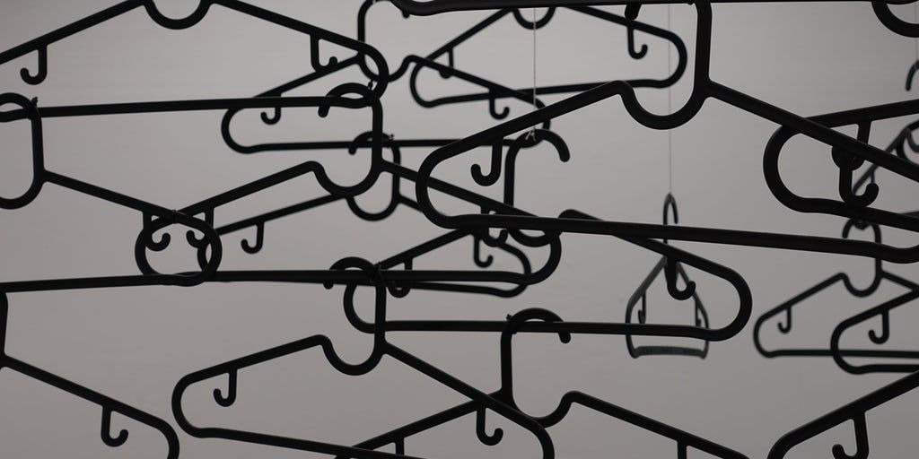 ICYMI: Plastic Hangers Are Fashion's Plastic Straws