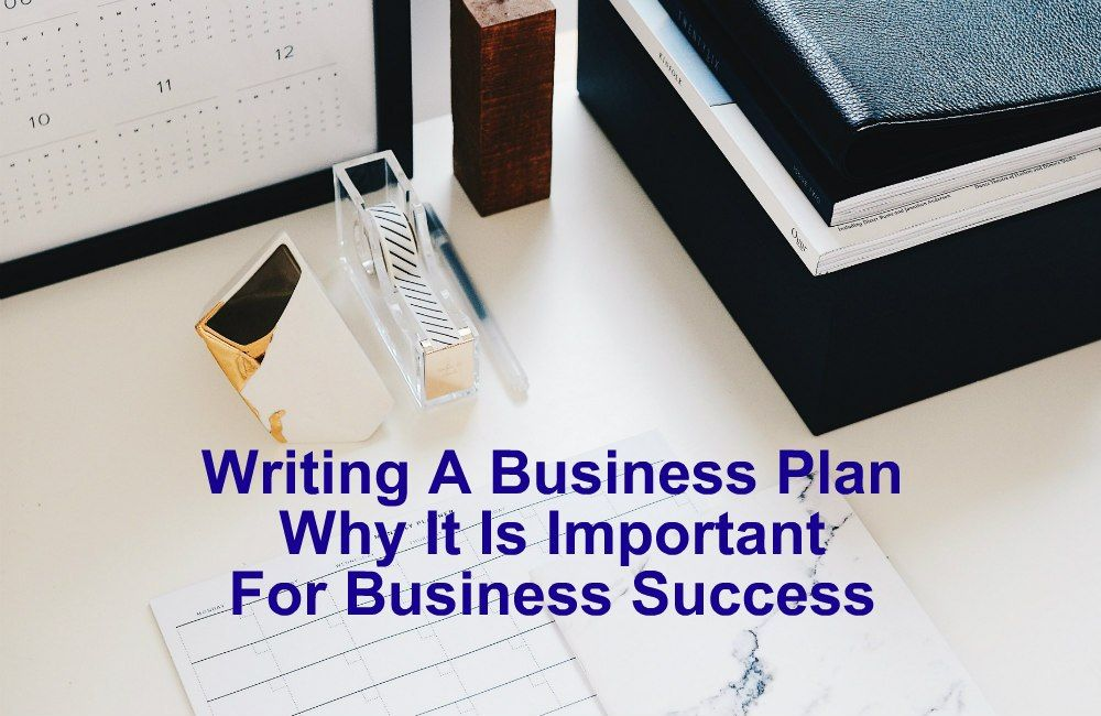 Writing A Business Plan Why Is It Important To Business
