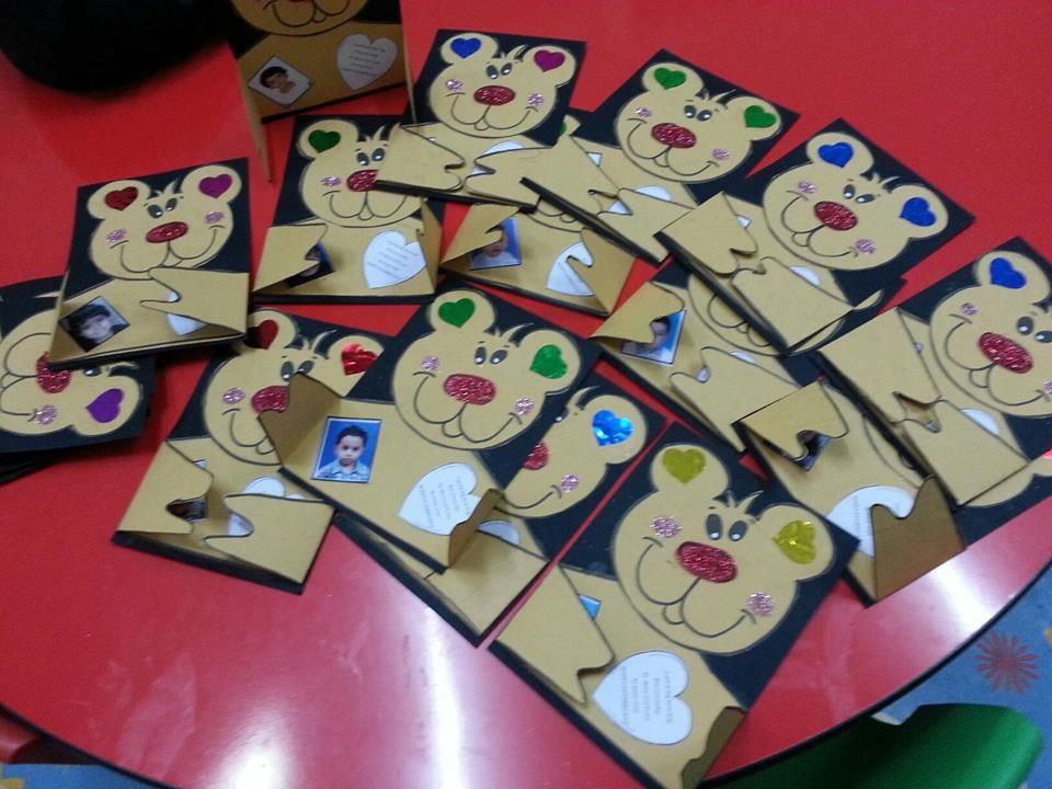 fathers day bear cards