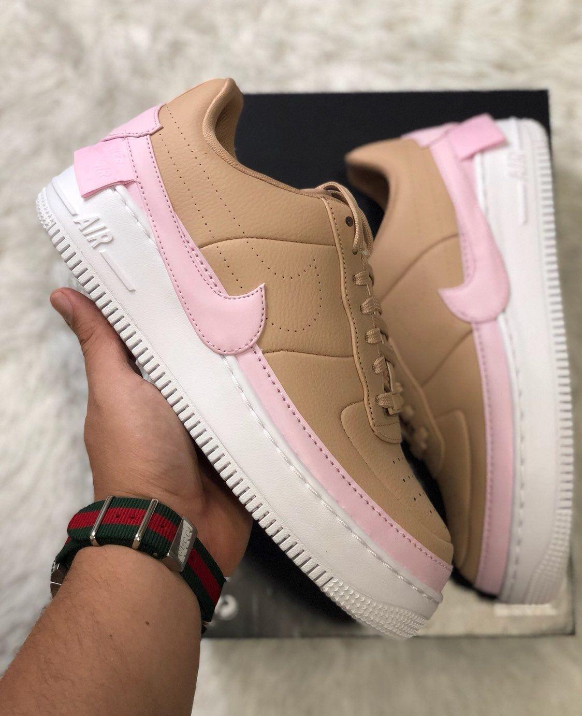 Nike Air Force 1 '07 Patent WeißWeiß Damen Schuh