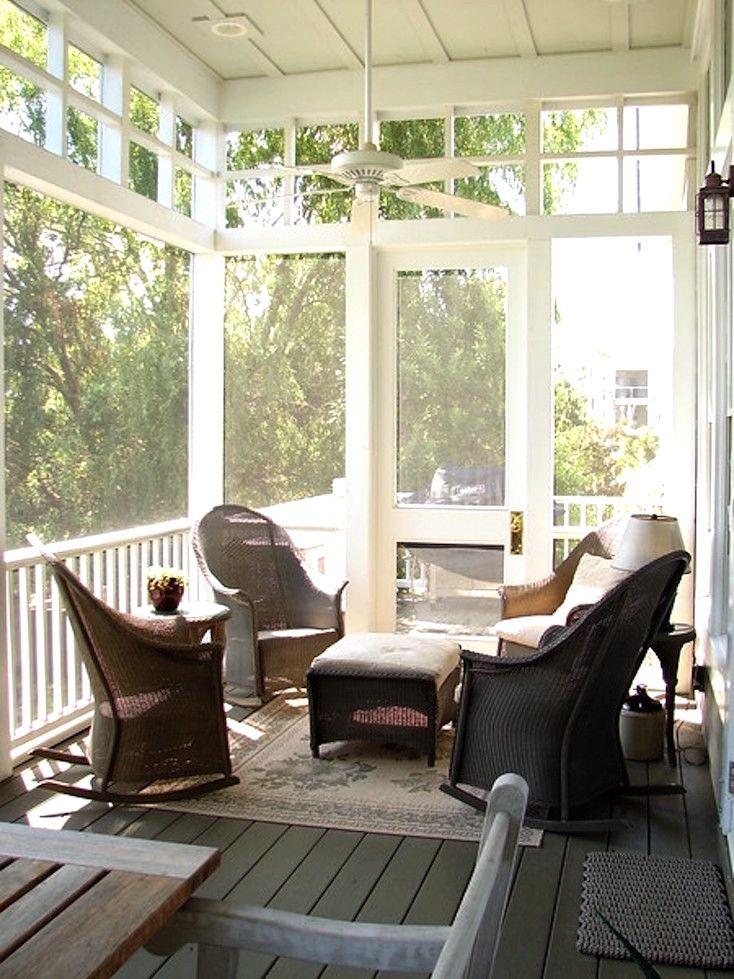 Creative Screened Porch Design ideas Window, Porch and Screened