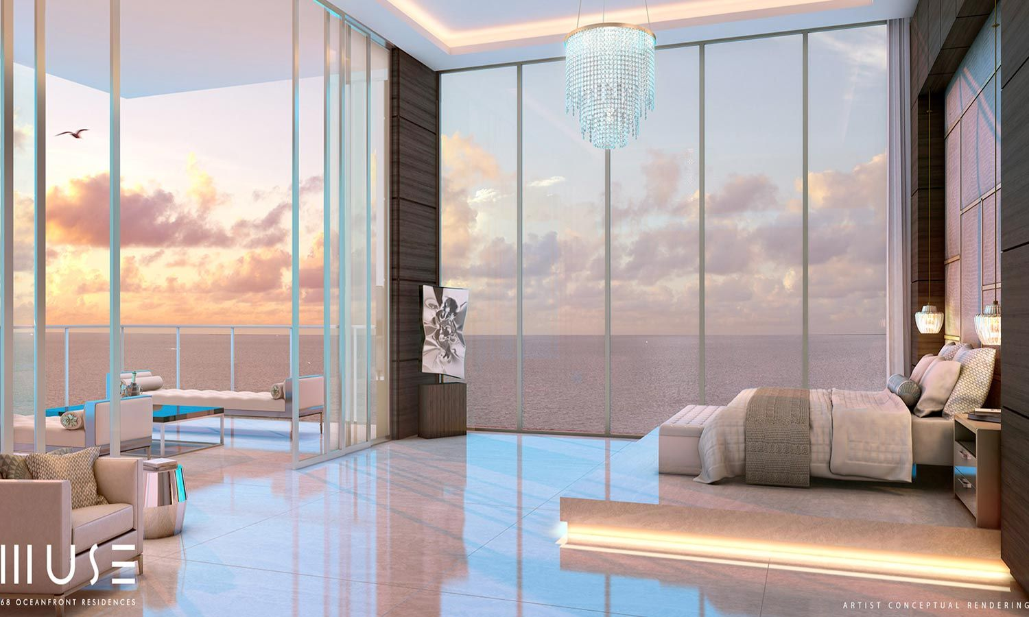 Floor plans are magnificent, residences go from 2 to 4 bedrooms, have modern  kitchen, smart-home features, acc…   Miami real estate, Luxury condo, Sunny  isles beach