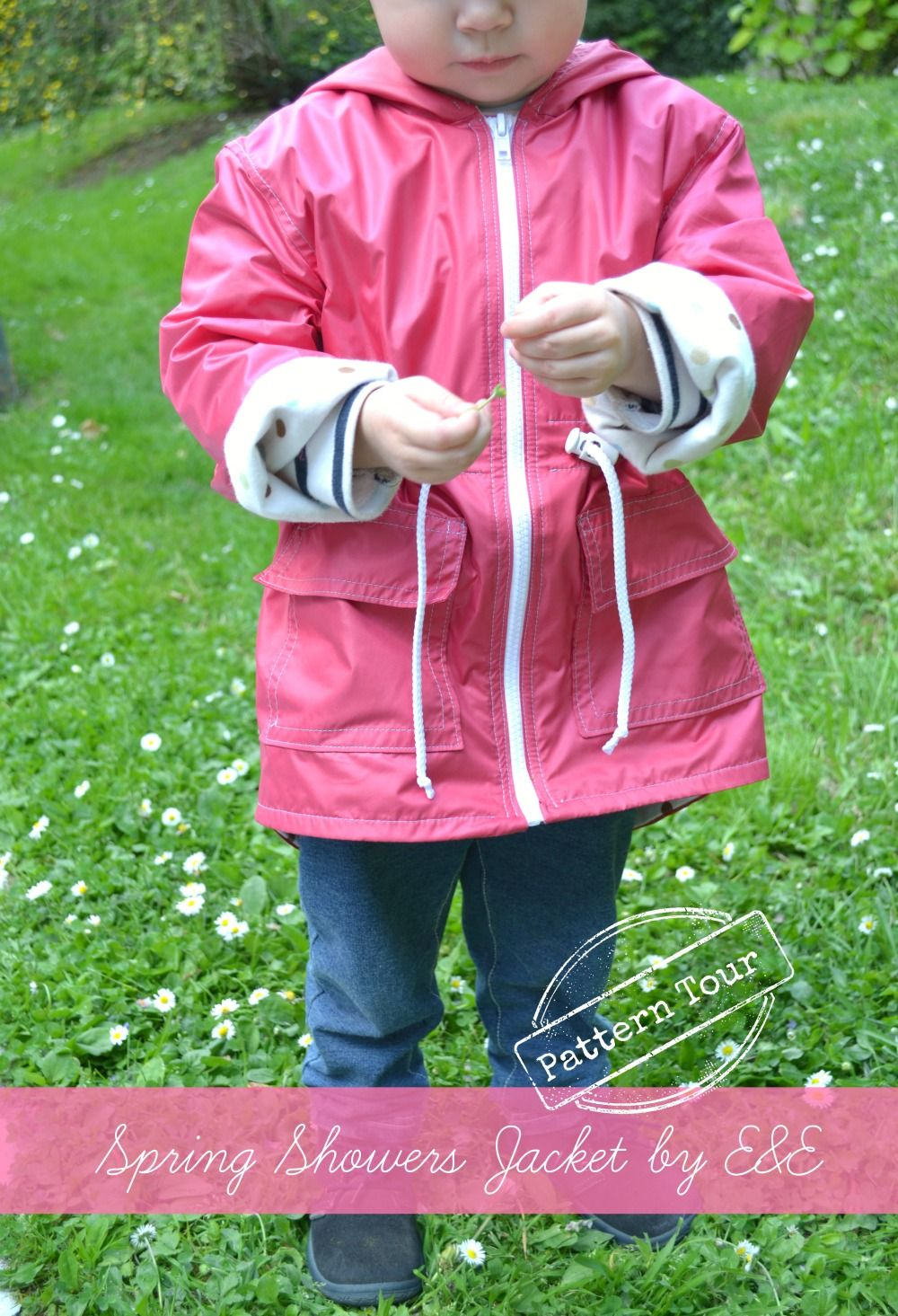 Pattern Tour: Spring Showers Jacket by Elegance and Elephants