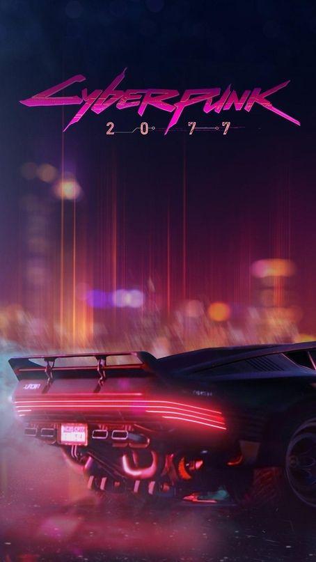 Wallpaper Iphone Android Background Followme Cyberpunk Aesthetic Cyberpunk City Cyberpunk 2077