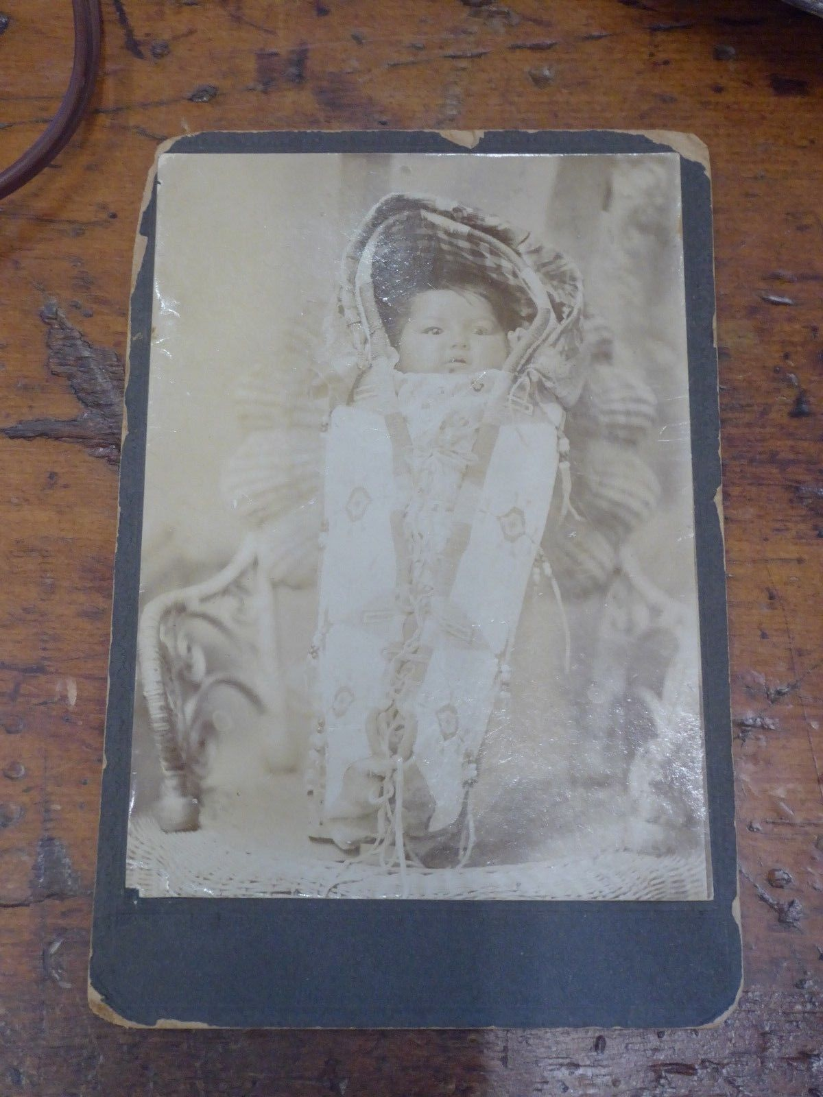Card Northern Plains Cradleboard Baby eBay