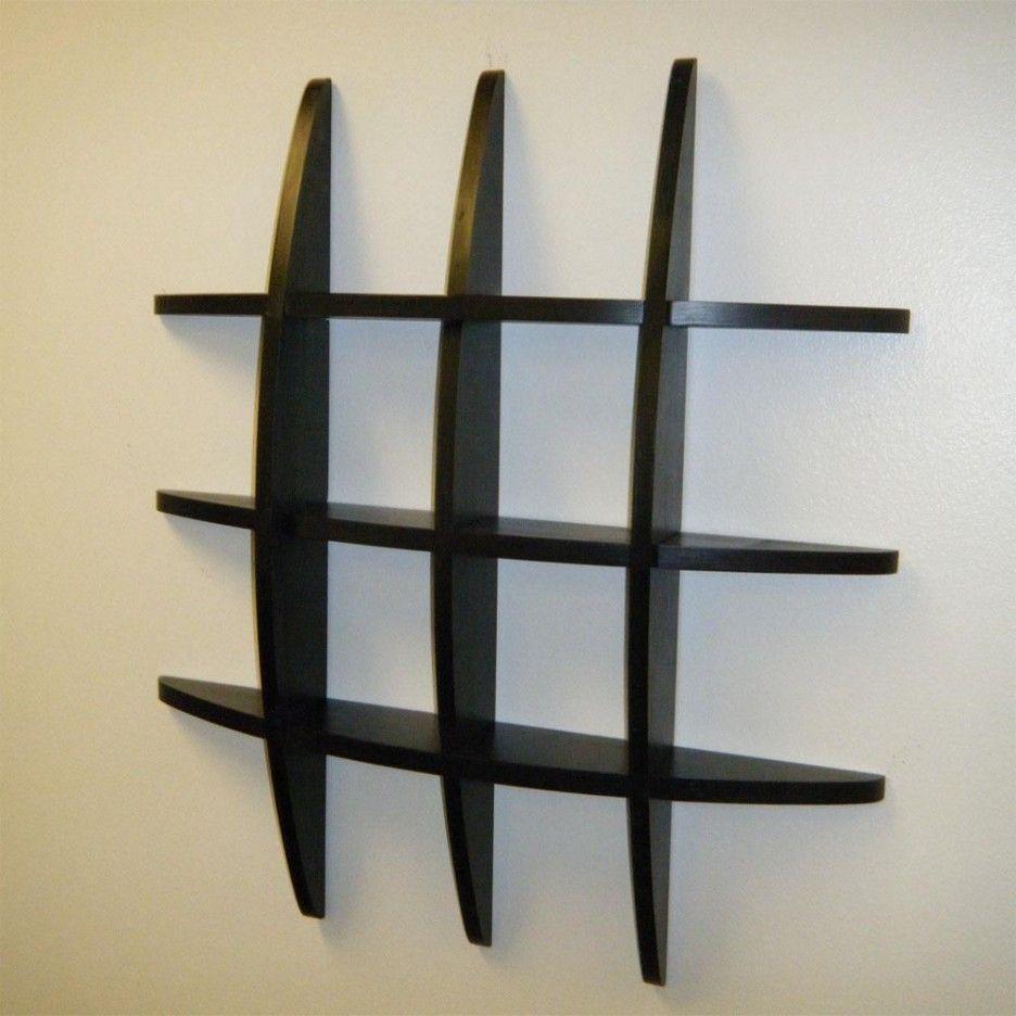 furniture. appealing unique shelving units design with black half