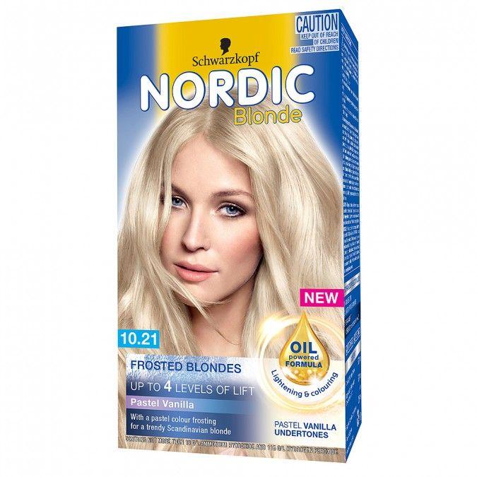 Schwarzkopf Nordic Frosted Blondes 10 21 Pastel Vanilla 1 Pack