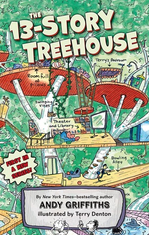 Treehouse Series by Andy Griffiths