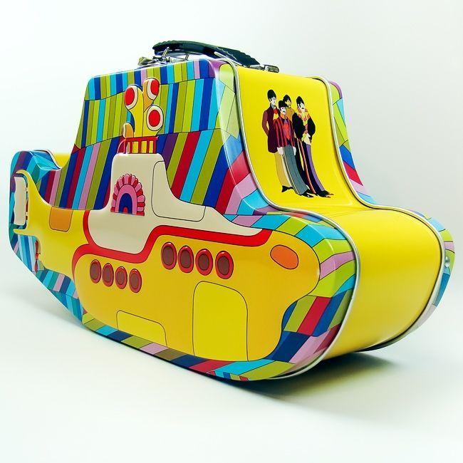 Maleta Yellow Submarine   Joy Home Design