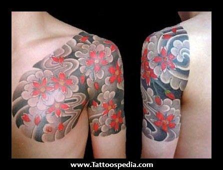 flower tattoo for men recherche google fleurs tatouage tatouage japonaise et henn. Black Bedroom Furniture Sets. Home Design Ideas