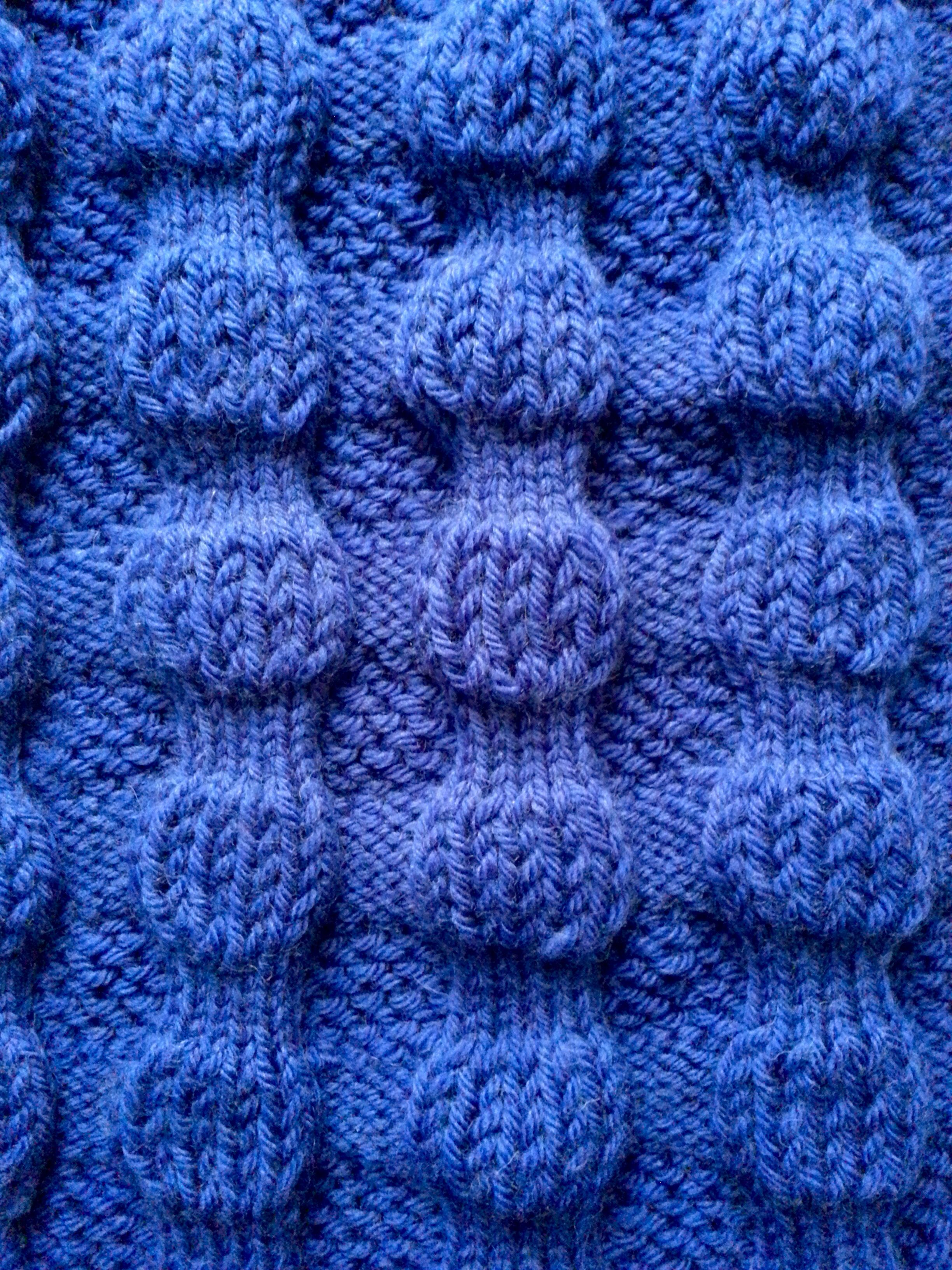 Double Bubble Scarf Knitting pattern by Squibblybups ...