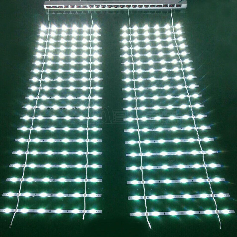 Light Box Led Back Light Lattice Led Curtain Lights Light Grid Led Curtain