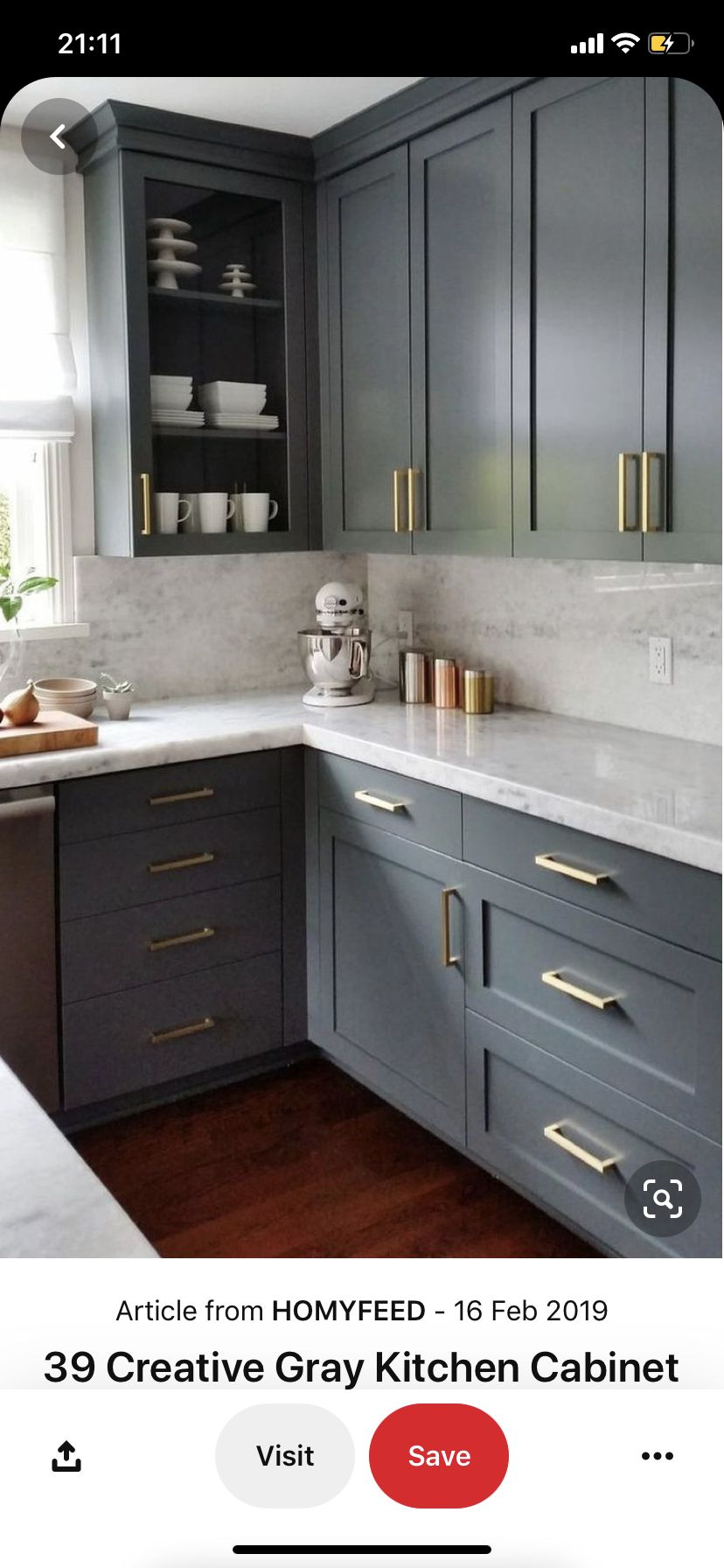 Pin By Linda Hicks On Mutfak In 2020 Cheap Kitchen Cabinets Grey Kitchen Cabinets Kitchen Redecorating