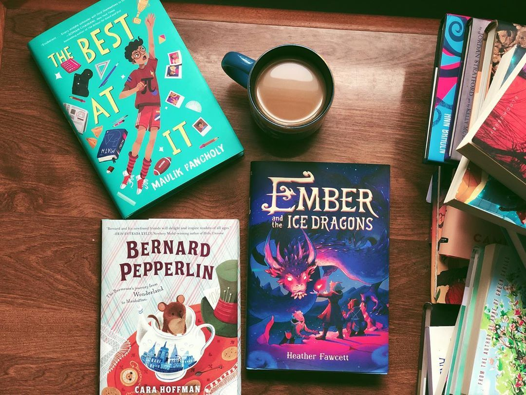 Ember and the ice dragons heather fawcett hardcover