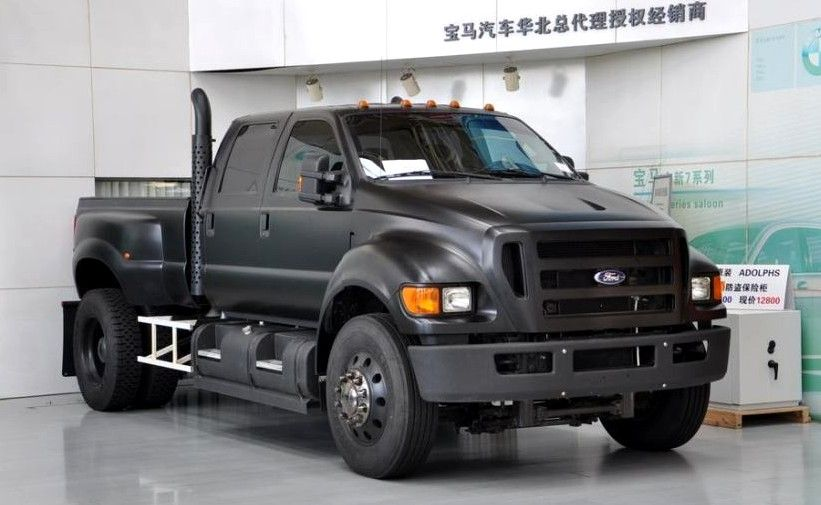 ford f-650 black matte color | rvs and haulers | pinterest | ford