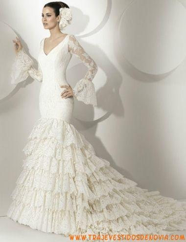 look 37 vestido de novia franc sarabia | vestidos de novia melilla