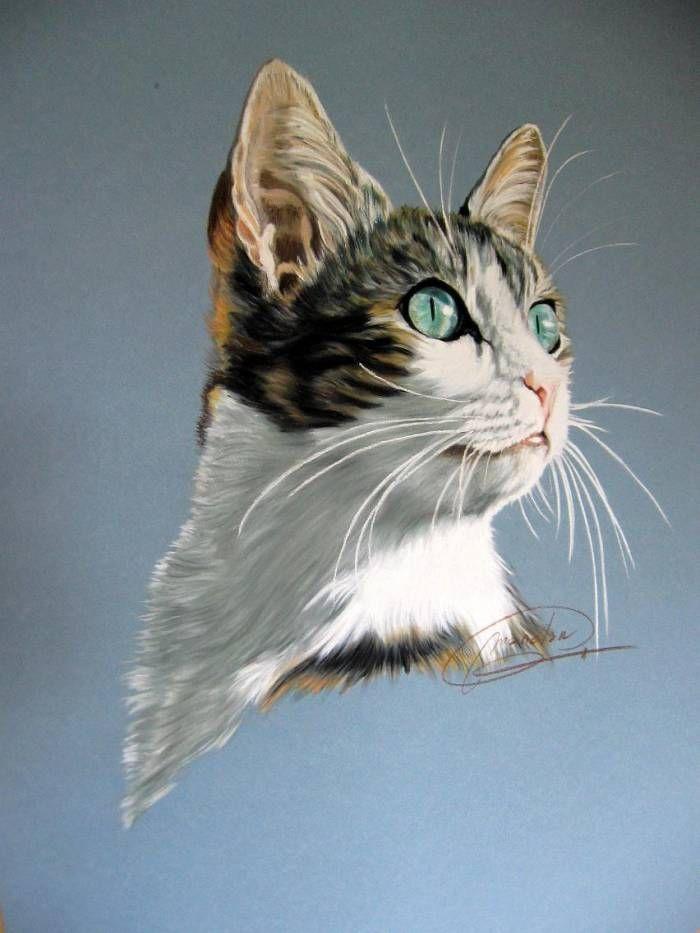 Que miras, mi gato? Elvira Marín Angulo - Artelista. | PINTURAS EN ...