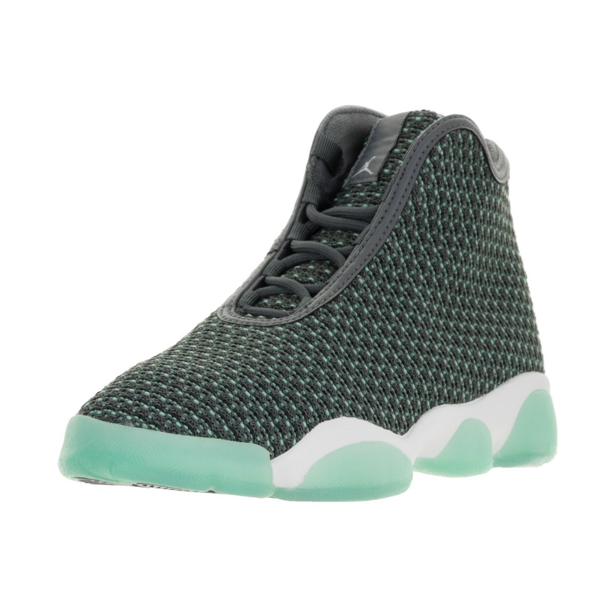 best website b9bd6 9c743 Nike Jordan Kids  Jordan Horizon BG Dark, White, and Turquoise Basketball  Shoes