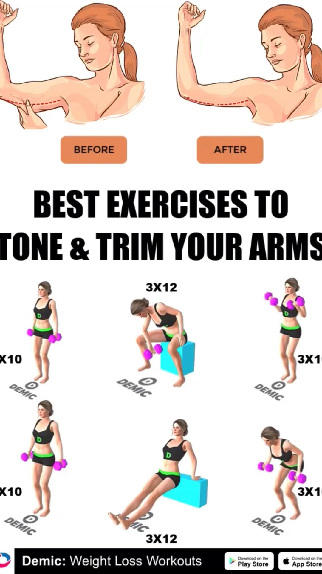 Best Exercises to Tone Your Arms