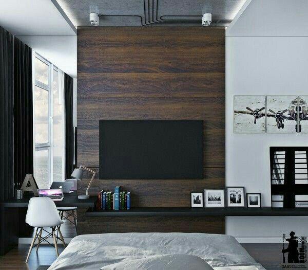 Minimalist Tv Wall Idea Dekorasi Rumah Rumah Dekorasi