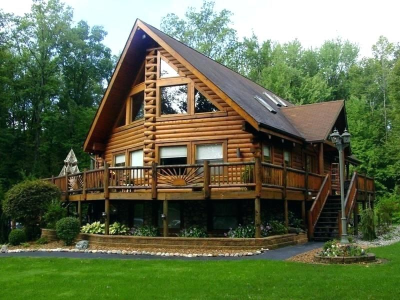 One Story House With Wrap Around Porch 4 Bedroom Single Story House Plans Wrap Around Porch Southern Log Homes Exterior Log Cabin Homes House Designs Exterior