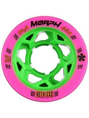 Reckless Morph Wheels 4pk Dual durometer wheels!