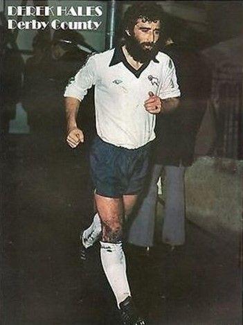 Derek Hales Derby County 1977