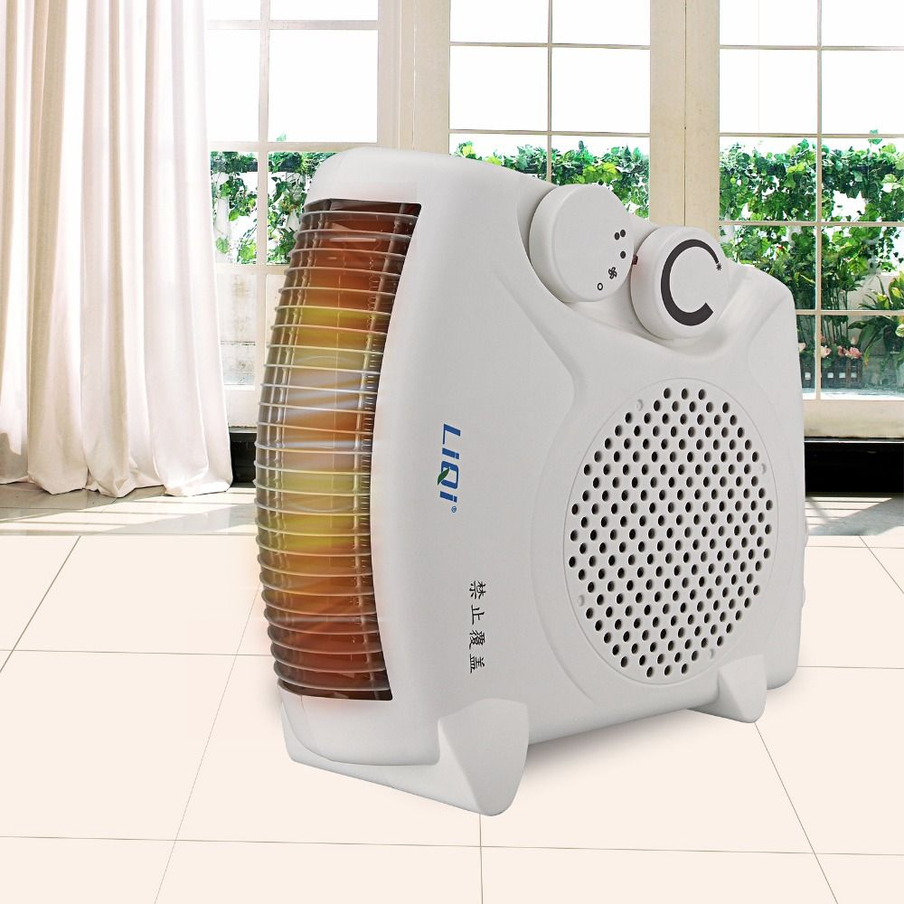 Bed Heater 220v Electric Heater Warm Air Blower Mini Fan Heater Electric
