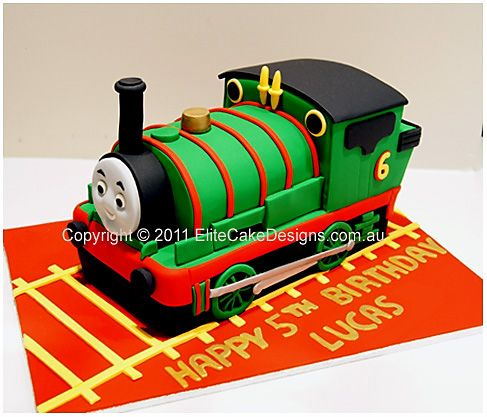 Percy From Thomas And Friends Birthday Cake