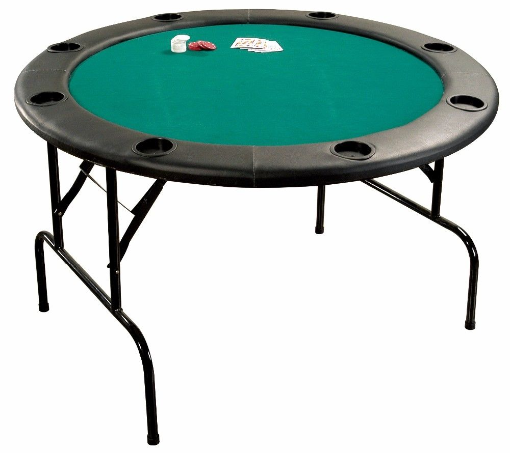 Round Poker Table With Folding Legs