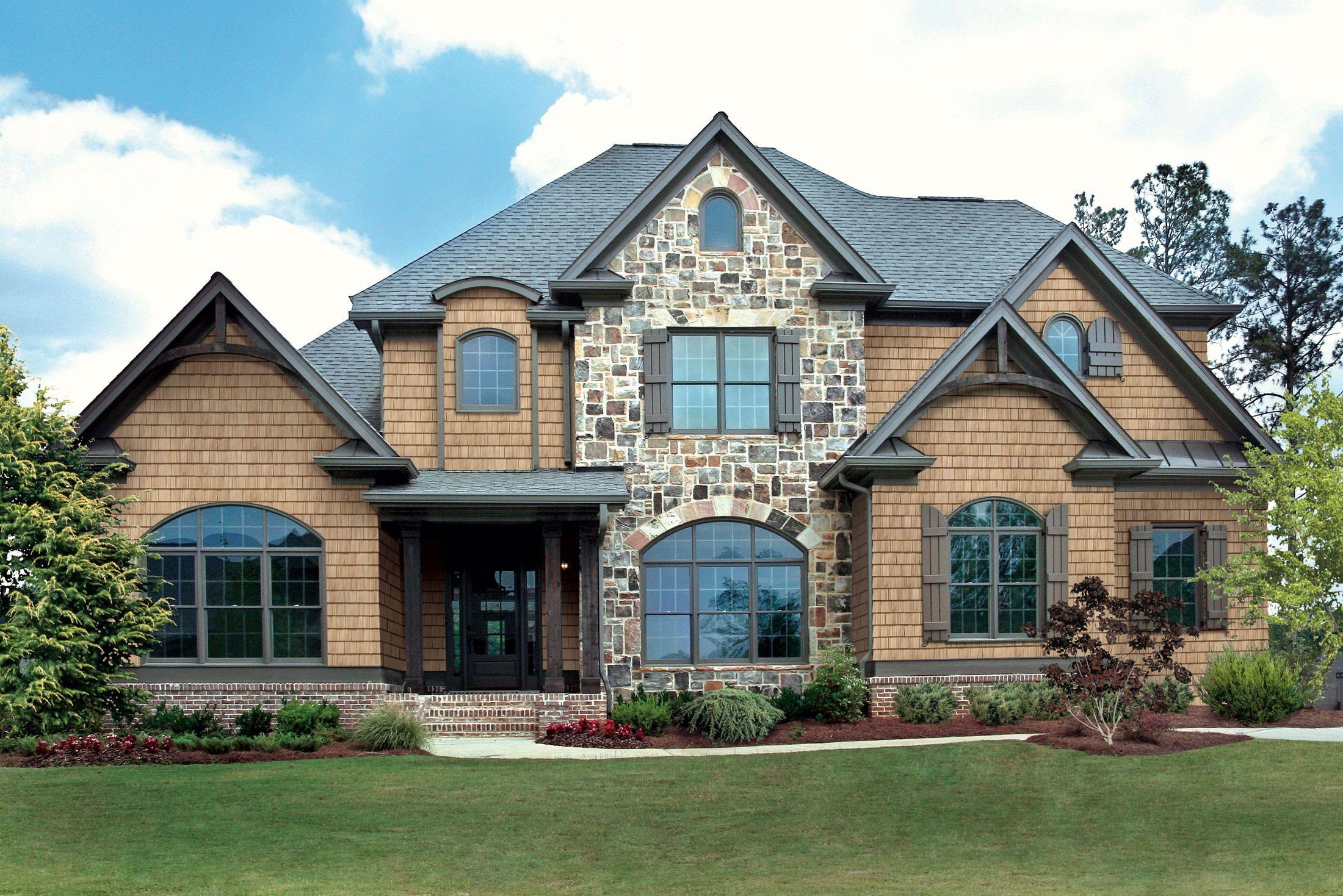 Gable Peak House Designs Exterior House Paint Exterior House Exterior