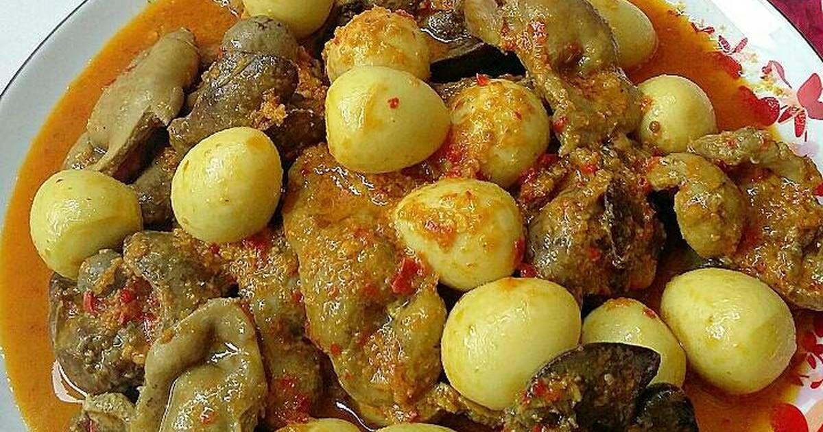 Resep Hati Ampela Masak Pedas Oleh Susan Mellyani Resep Resep Makanan Rebusan