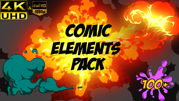 VIDEOHIVE COMIC ELEMENT PACK FREE DOWNLOAD - Free After