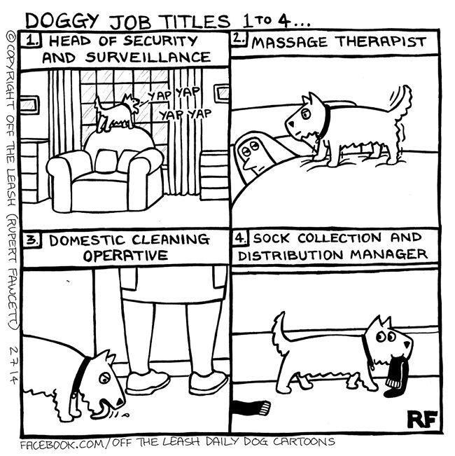 Far Side Comic Doggie Door