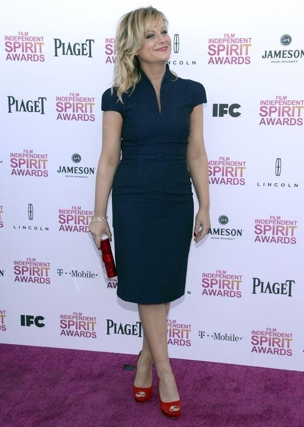 Amy Poheler At The 2013 Independent SpiritAwards