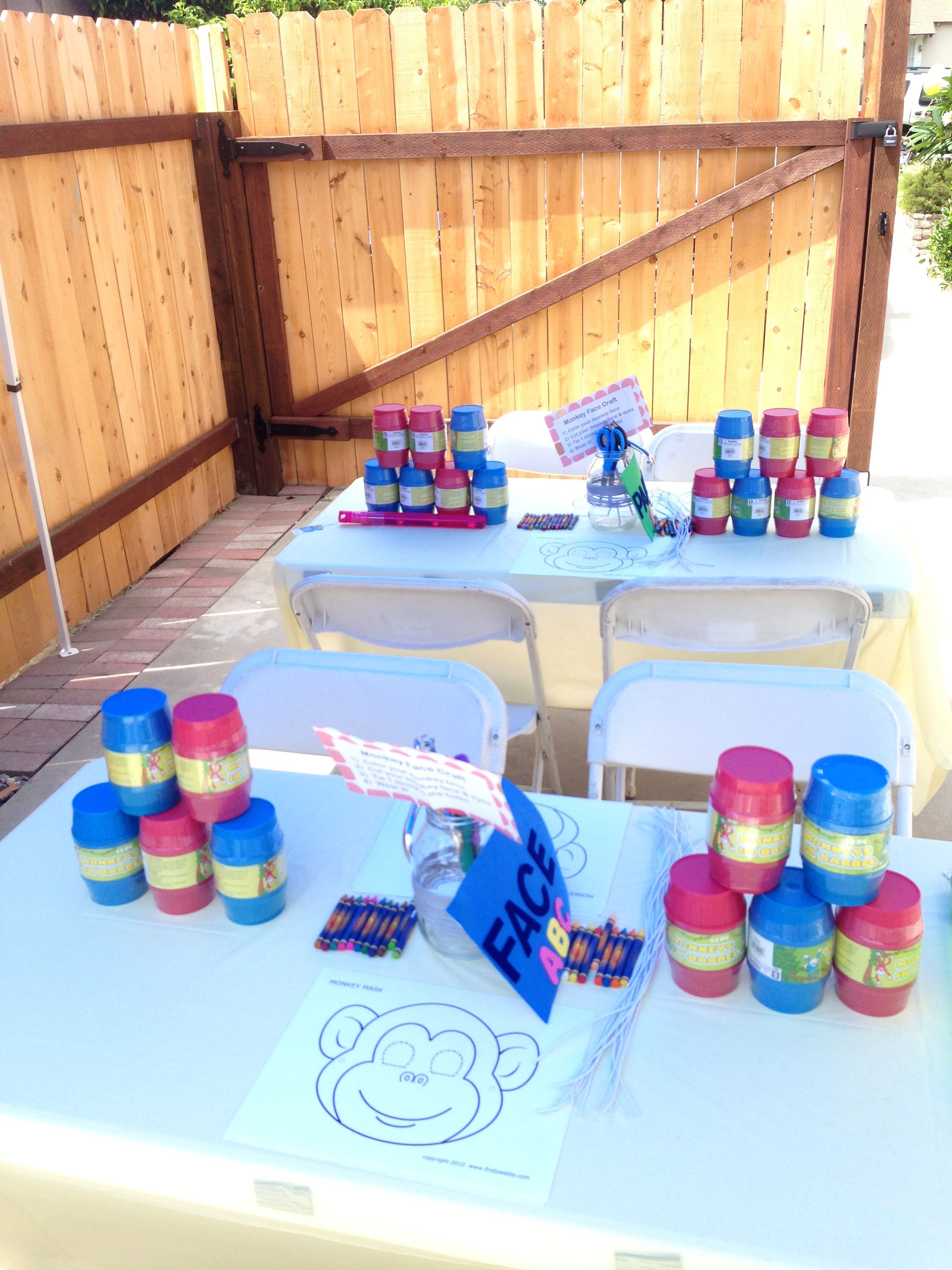 47+ Craft table ideas for birthday party ideas