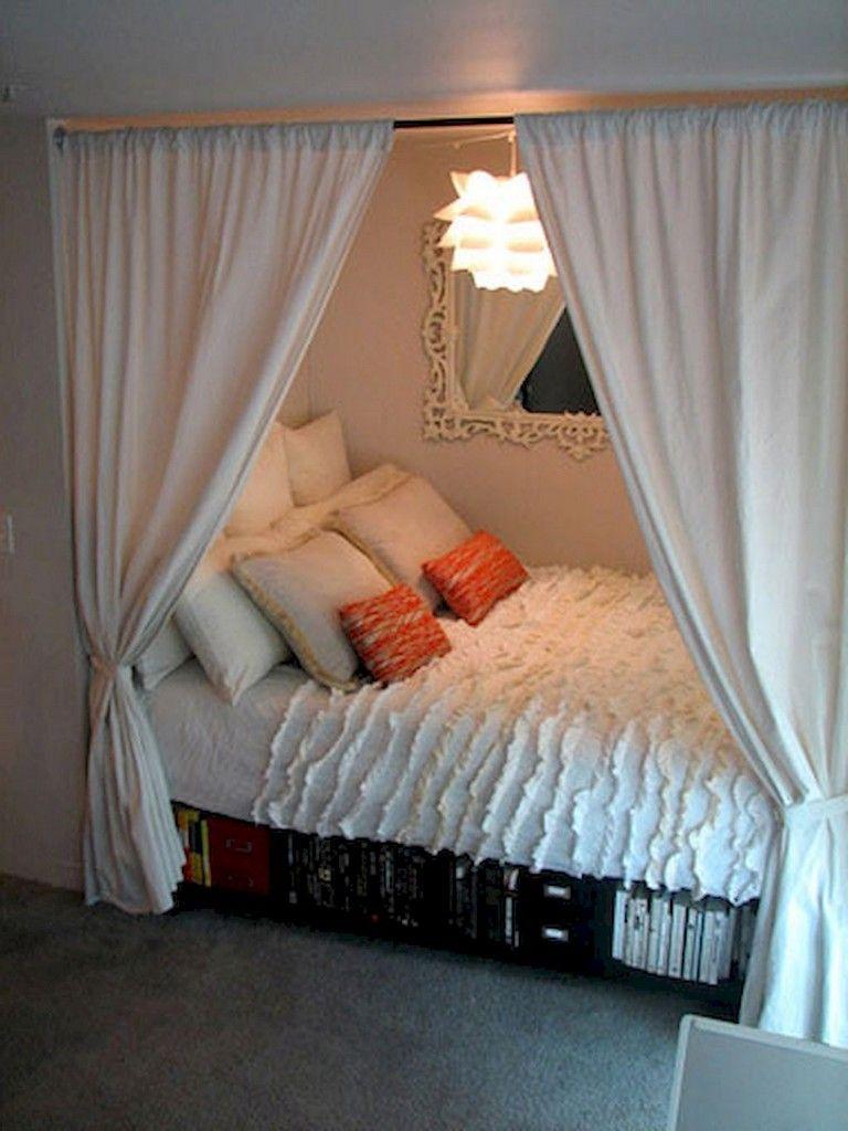 58+ Smart Tips and Tricks Dorm Room Organization Storage ...