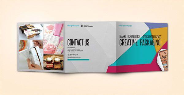 pictorial brochure design 20+ Simple Yet Beautiful Brochure Design ...