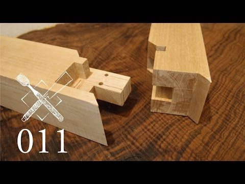 Joint Venture Ep 11 Tongue And Groove Shoulder Miter Joint Sumidome Hozo Sashi Japanese Joinery Youtube Japanese Joinery Wood Joints Joinery
