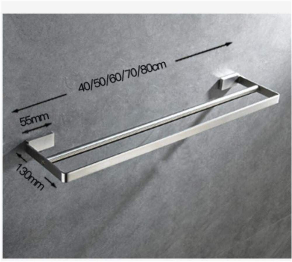 Xj Dd Edelstahl 304 Handtuchstange Einpolige Doppel Pole