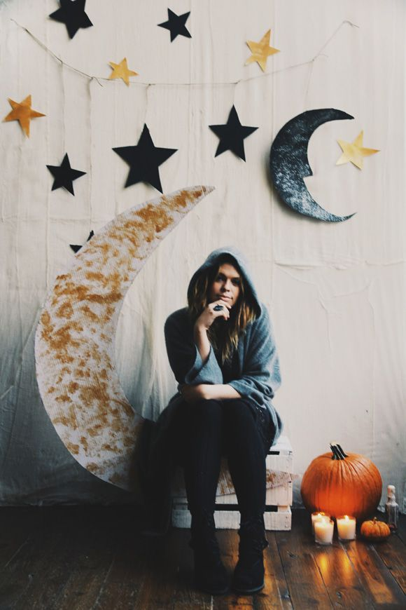Make Your Own Halloween Party Backdrop Free People Blog - halloween diy ideas