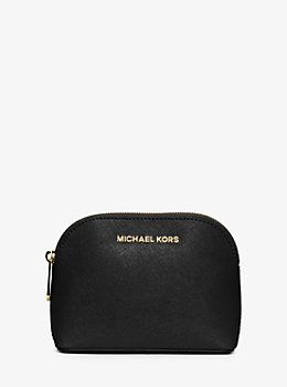 Bag Cindy Saffiano Leather Travel Pouch By Michael Kors