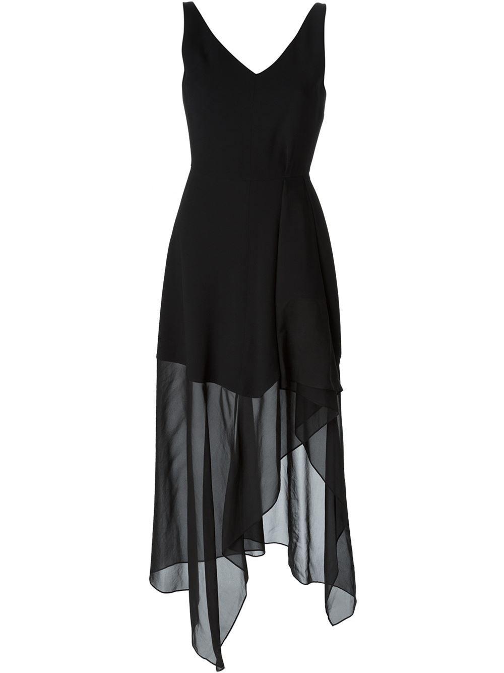theory 'dahama register' dress - the webster - farfetch