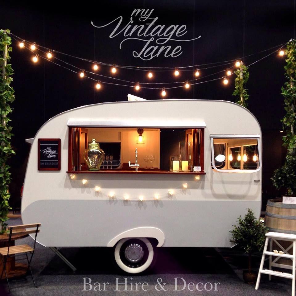 Food Truck Wedding Ideas: Vintage Inspired Bar Hire..!