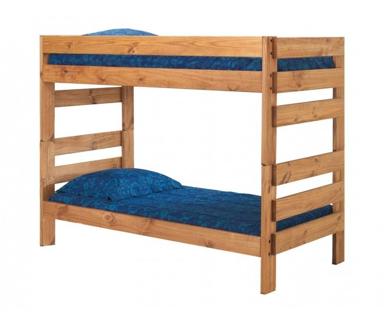 Twin Over Twin Stackable Bunk Bed | Twin over Twin Bunk Beds for Kids | Children's Beds for Boys & Girls