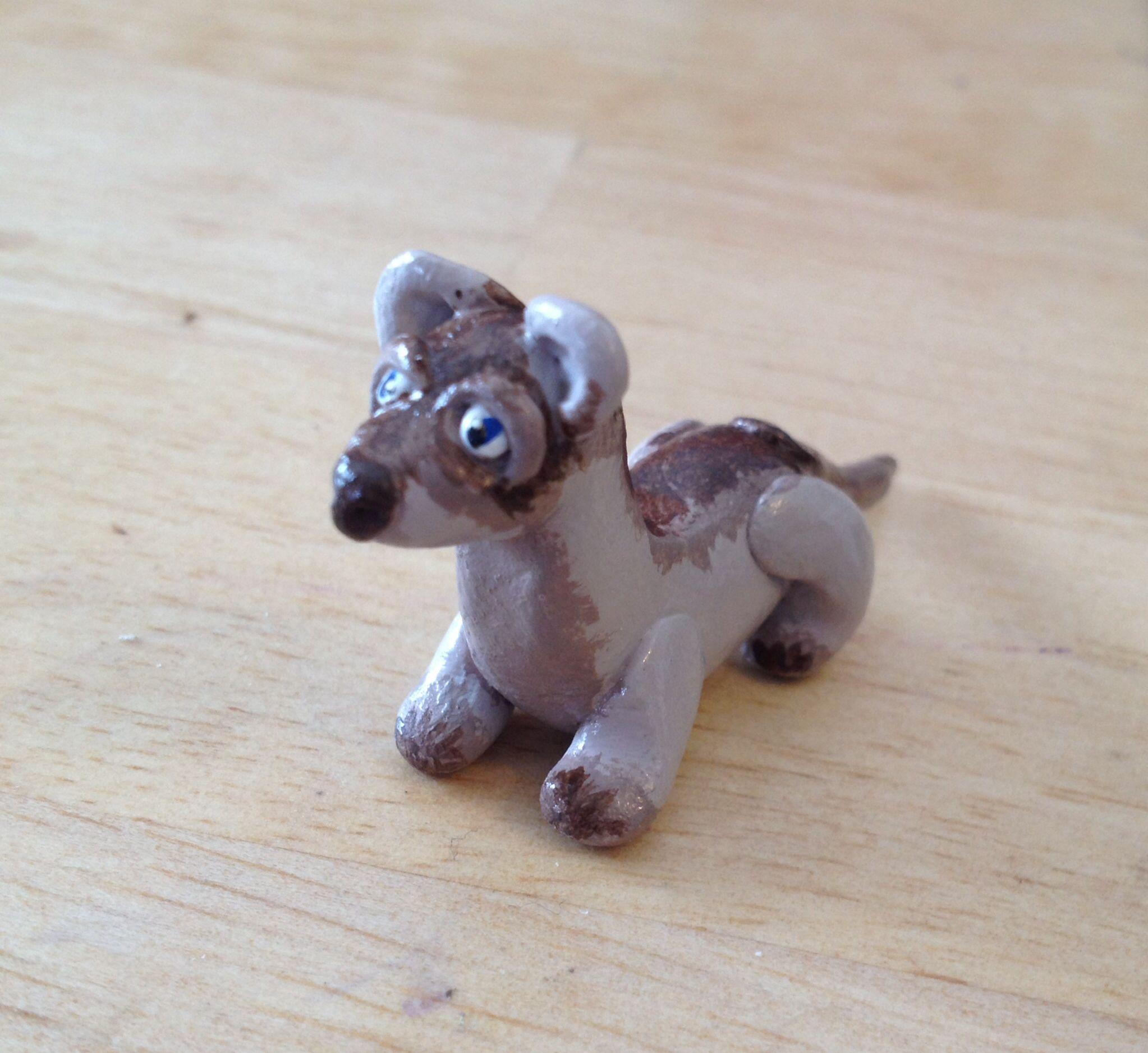 Little brown weasel