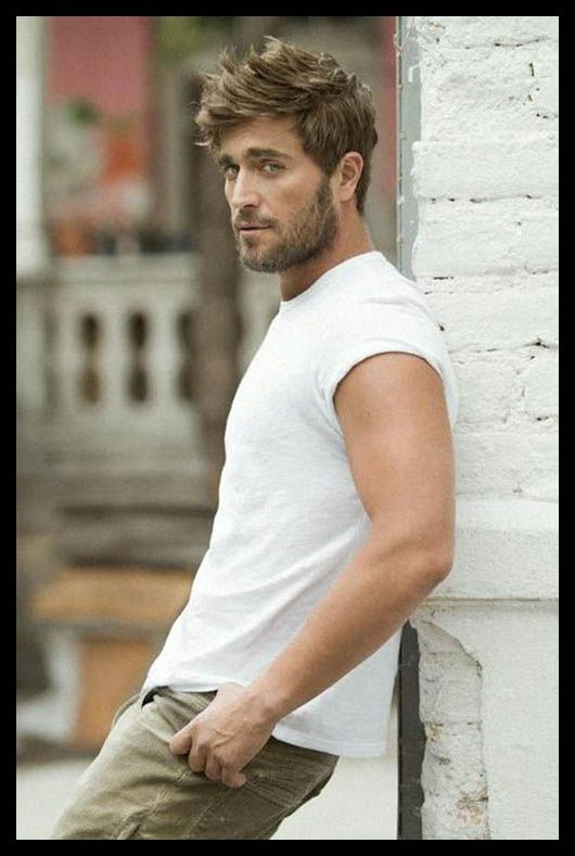 Short casual hairstyle for men   Hair   Pinterest   Casual ...