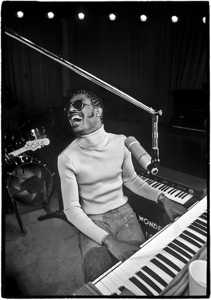 Stevie Wonder, Los Angeles, CA 1974 © Al Satterwhite, 1974 ...