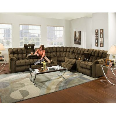 Harrold Sectional Reclining Sectional Sectional Sofa Couch Sectional Sofa